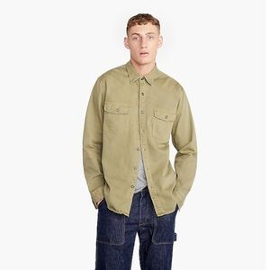 Wallace and Barnes two-pocket Work shirt